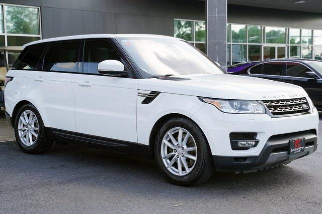 Used 2016 Land Rover Range Rover Sport 3.0L V6 Supercharged SE for sale $44,991 at Gravity Autos Roswell in Roswell GA 30076 7