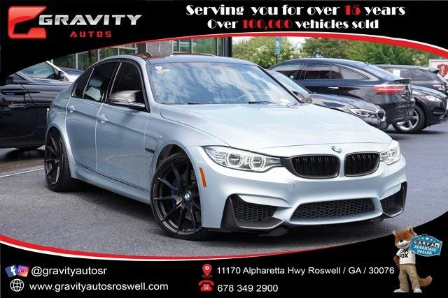 Used 2015 BMW M3 Base for sale $49,996 at Gravity Autos Roswell in Roswell GA 30076 1