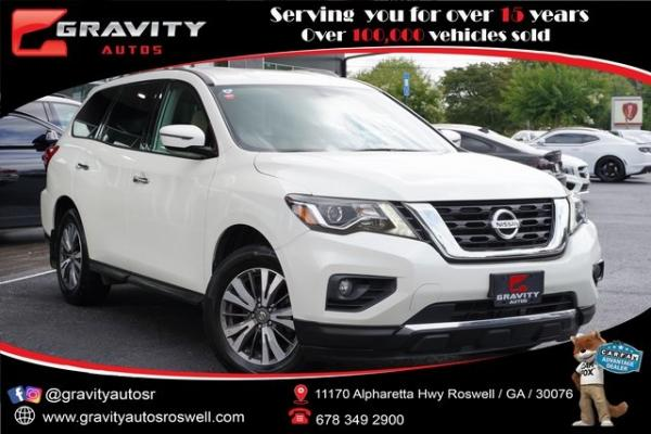 Used 2017 Nissan Pathfinder SV for sale $24,991 at Gravity Autos Roswell in Roswell GA