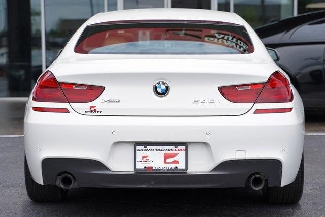 Used 2017 BMW 6 Series 640i xDrive Gran Coupe for sale $44,991 at Gravity Autos Roswell in Roswell GA 30076 12