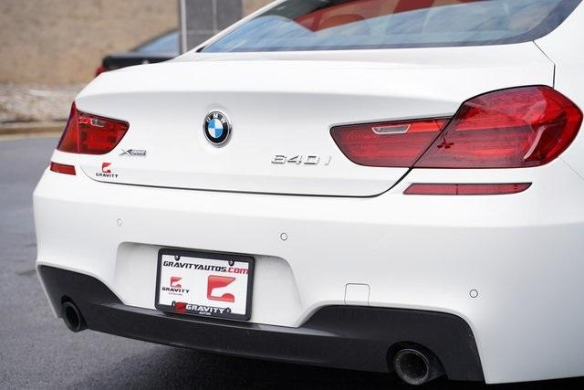Used 2017 BMW 6 Series 640i xDrive Gran Coupe for sale $44,991 at Gravity Autos Roswell in Roswell GA 30076 14