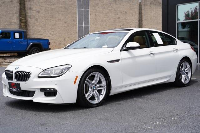 Used 2017 BMW 6 Series 640i xDrive Gran Coupe for sale $44,991 at Gravity Autos Roswell in Roswell GA 30076 5