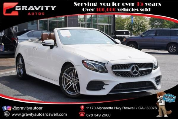 Used 2018 Mercedes-Benz E-Class E 400 for sale $56,991 at Gravity Autos Roswell in Roswell GA