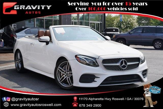 Used 2018 Mercedes-Benz E-Class E 400 for sale $56,991 at Gravity Autos Roswell in Roswell GA 30076 1