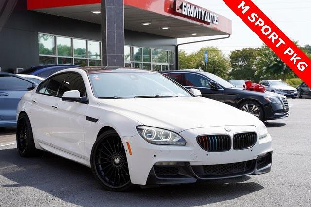 Used 2015 BMW 6 Series 640i Gran Coupe for sale Sold at Gravity Autos Roswell in Roswell GA 30076 2