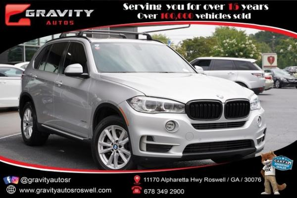 Used 2015 BMW X5 xDrive35i for sale $25,492 at Gravity Autos Roswell in Roswell GA