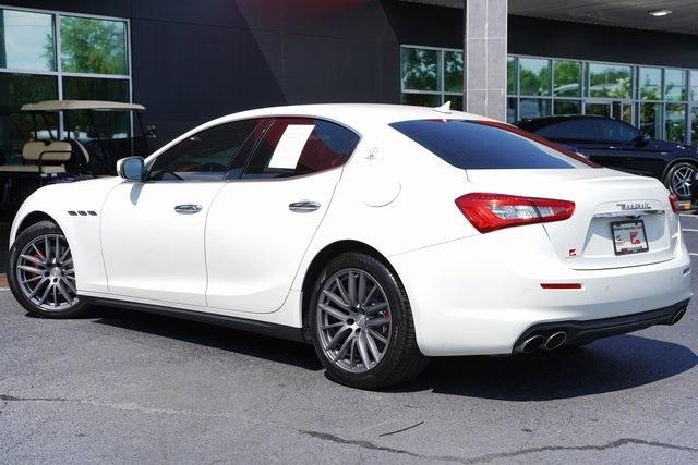 Used 2018 Maserati Ghibli Base for sale $45,992 at Gravity Autos Roswell in Roswell GA 30076 10