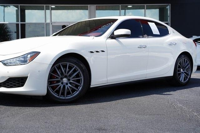 Used 2018 Maserati Ghibli Base for sale $45,992 at Gravity Autos Roswell in Roswell GA 30076 3