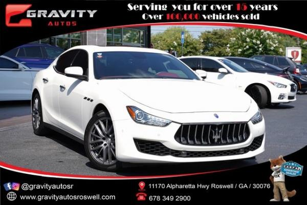 Used 2018 Maserati Ghibli Base for sale $45,992 at Gravity Autos Roswell in Roswell GA