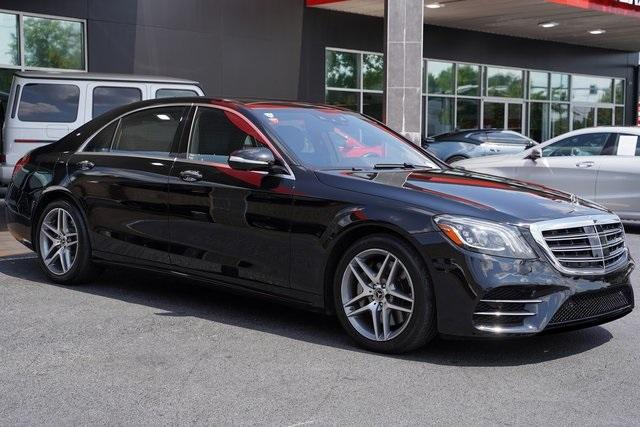 Used 2018 Mercedes-Benz S-Class S 450 for sale $58,992 at Gravity Autos Roswell in Roswell GA 30076 7