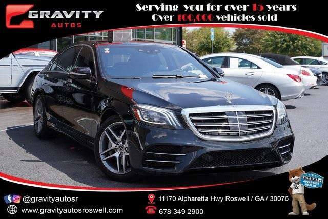 Used 2018 Mercedes-Benz S-Class S 450 for sale $58,992 at Gravity Autos Roswell in Roswell GA 30076 1