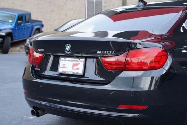 Used 2017 BMW 4 Series 430i xDrive for sale $28,492 at Gravity Autos Roswell in Roswell GA 30076 13