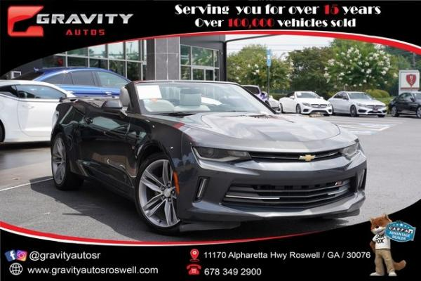 Used 2017 Chevrolet Camaro 1LT for sale $28,992 at Gravity Autos Roswell in Roswell GA