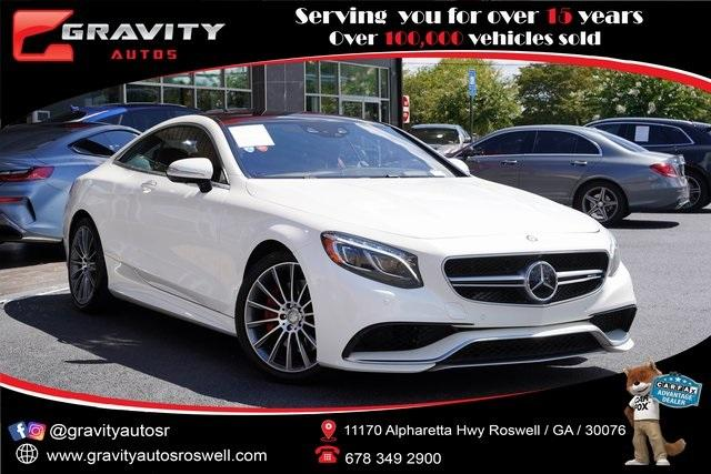 Used 2016 Mercedes-Benz S-Class S 550 for sale Sold at Gravity Autos Roswell in Roswell GA 30076 1