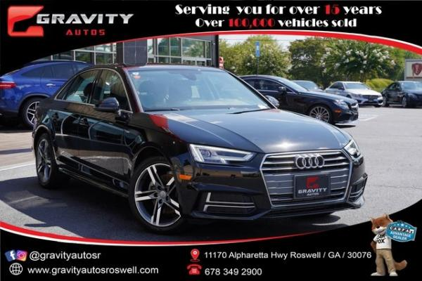 Used 2018 Audi A4 2.0T ultra Premium plus for sale $29,992 at Gravity Autos Roswell in Roswell GA