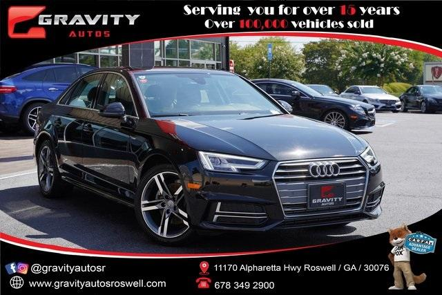Used 2018 Audi A4 2.0T ultra Premium plus for sale $29,992 at Gravity Autos Roswell in Roswell GA 30076 1