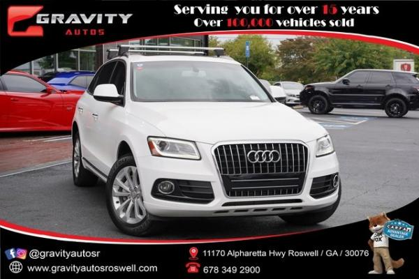Used 2016 Audi Q5 2.0T Premium for sale $23,992 at Gravity Autos Roswell in Roswell GA
