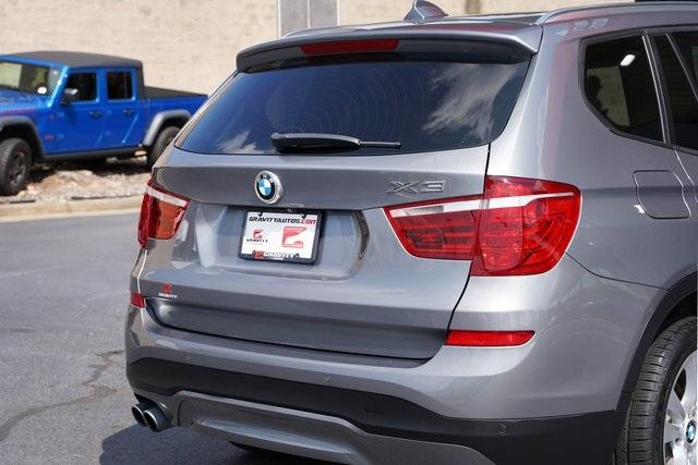 Used 2016 BMW X3 xDrive28i for sale $26,992 at Gravity Autos Roswell in Roswell GA 30076 14