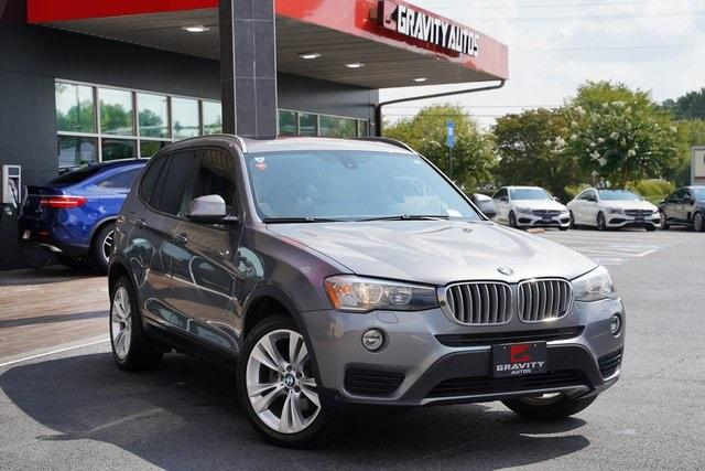 Used 2016 BMW X3 xDrive28i for sale $26,992 at Gravity Autos Roswell in Roswell GA 30076 2