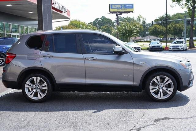 Used 2016 BMW X3 xDrive28i for sale $26,992 at Gravity Autos Roswell in Roswell GA 30076 8
