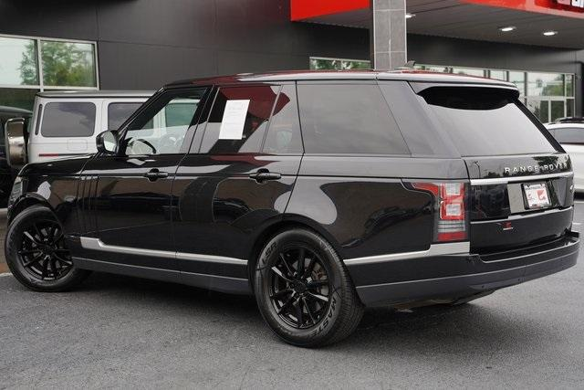 Used 2016 Land Rover Range Rover 3.0L V6 Turbocharged Diesel Td6 for sale $46,992 at Gravity Autos Roswell in Roswell GA 30076 11