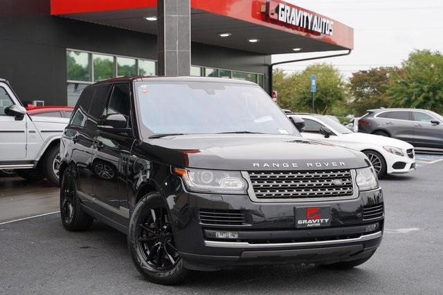 Used 2016 Land Rover Range Rover 3.0L V6 Turbocharged Diesel Td6 for sale $46,992 at Gravity Autos Roswell in Roswell GA 30076 2