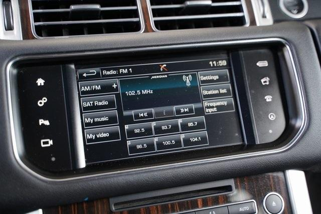 Used 2016 Land Rover Range Rover 3.0L V6 Turbocharged Diesel Td6 for sale $46,992 at Gravity Autos Roswell in Roswell GA 30076 22