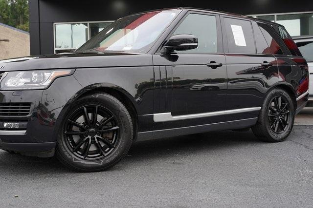 Used 2016 Land Rover Range Rover 3.0L V6 Turbocharged Diesel Td6 for sale $46,992 at Gravity Autos Roswell in Roswell GA 30076 3