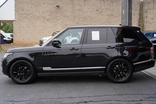Used 2016 Land Rover Range Rover 3.0L V6 Turbocharged Diesel Td6 for sale $46,992 at Gravity Autos Roswell in Roswell GA 30076 4