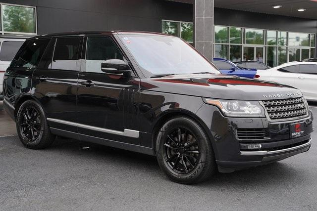 Used 2016 Land Rover Range Rover 3.0L V6 Turbocharged Diesel Td6 for sale $46,992 at Gravity Autos Roswell in Roswell GA 30076 7