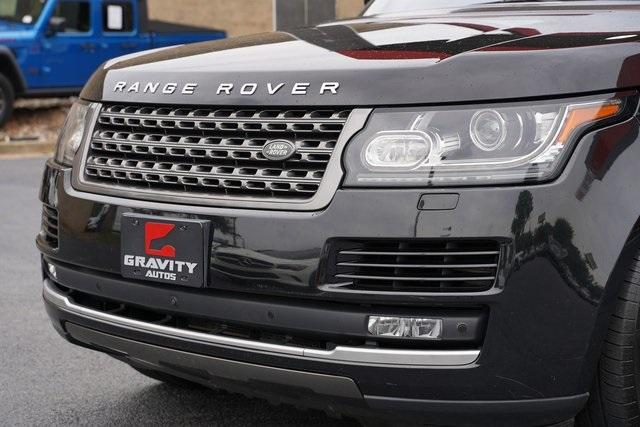 Used 2016 Land Rover Range Rover 3.0L V6 Turbocharged Diesel Td6 for sale $46,992 at Gravity Autos Roswell in Roswell GA 30076 9