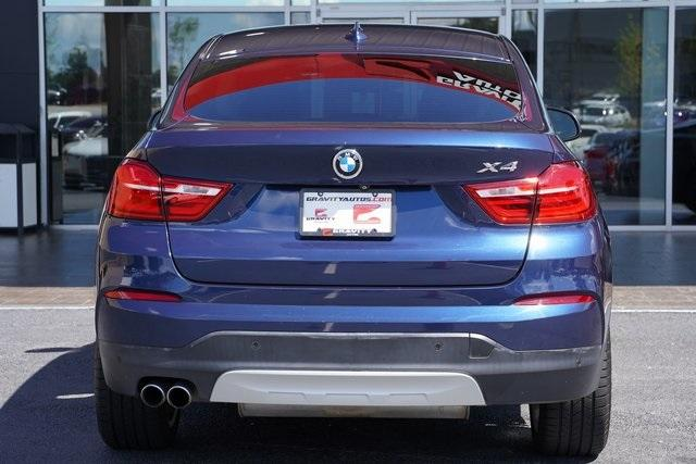 Used 2016 BMW X4 xDrive28i for sale $30,982 at Gravity Autos Roswell in Roswell GA 30076 12