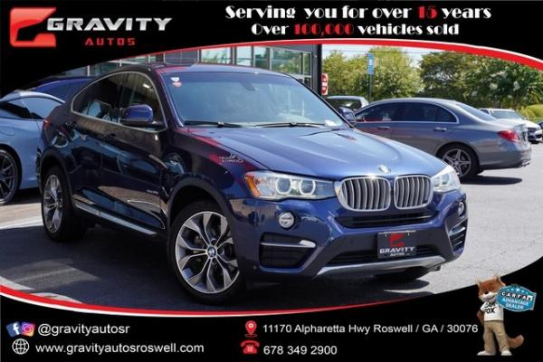 Used 2016 BMW X4 xDrive28i for sale $30,982 at Gravity Autos Roswell in Roswell GA