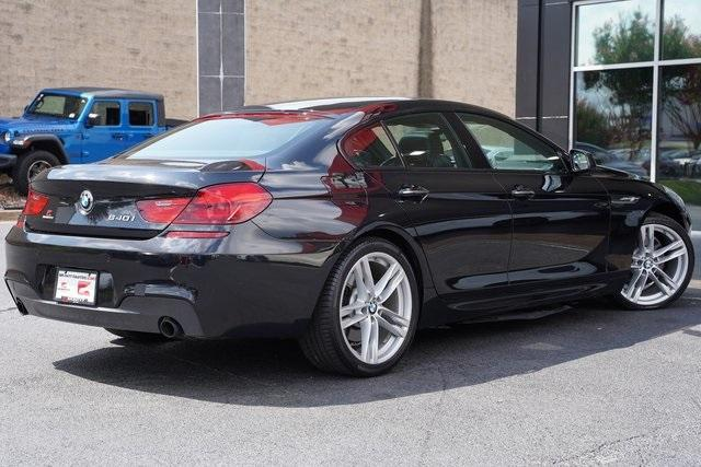 Used 2015 BMW 6 Series 640i Gran Coupe for sale $35,992 at Gravity Autos Roswell in Roswell GA 30076 13