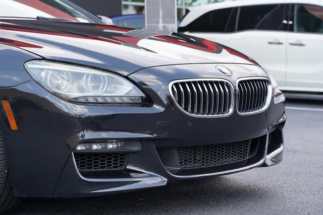 Used 2015 BMW 6 Series 640i Gran Coupe for sale $35,992 at Gravity Autos Roswell in Roswell GA 30076 9