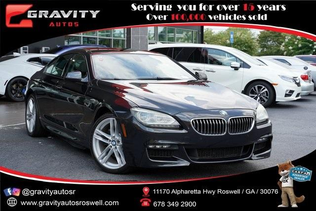 Used 2015 BMW 6 Series 640i Gran Coupe for sale $35,992 at Gravity Autos Roswell in Roswell GA 30076 1