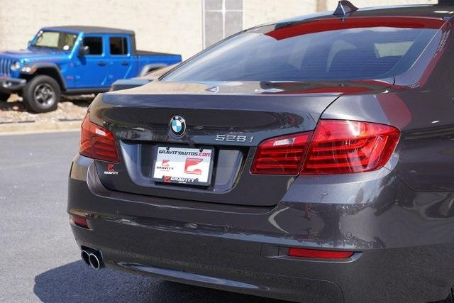 Used 2015 BMW 5 Series 528i for sale $21,992 at Gravity Autos Roswell in Roswell GA 30076 14