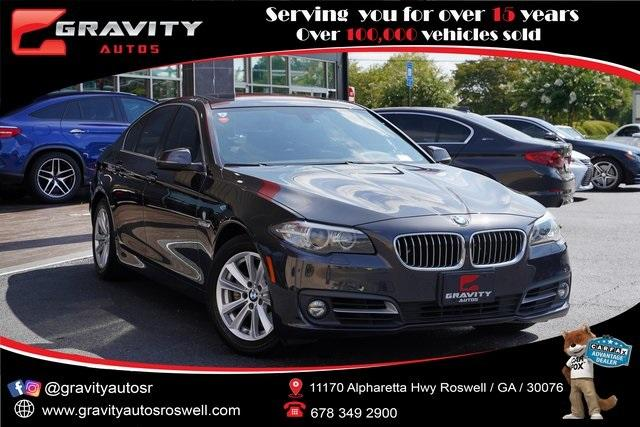 Used 2015 BMW 5 Series 528i for sale $21,992 at Gravity Autos Roswell in Roswell GA 30076 1