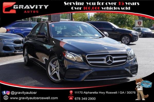 Used 2018 Mercedes-Benz E-Class E 300 for sale $34,992 at Gravity Autos Roswell in Roswell GA
