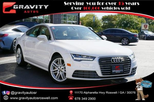Used 2017 Audi A7 3.0T Premium Plus for sale $40,992 at Gravity Autos Roswell in Roswell GA