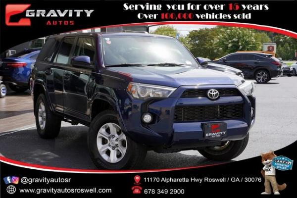 Used 2015 Toyota 4Runner SR5 for sale $35,992 at Gravity Autos Roswell in Roswell GA