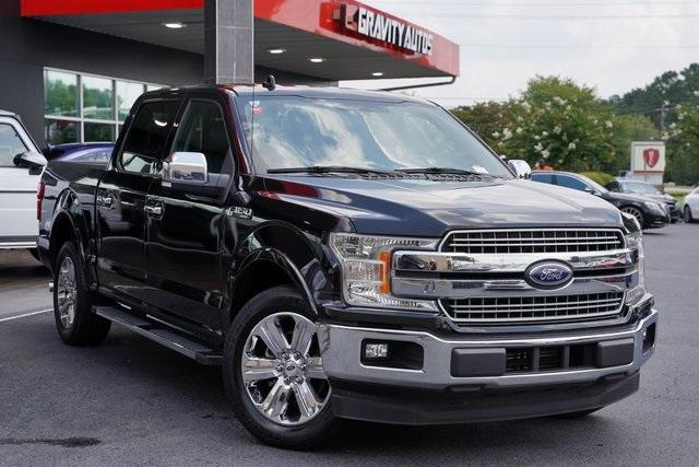 Used 2018 Ford F-150 Lariat for sale Sold at Gravity Autos Roswell in Roswell GA 30076 2