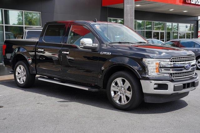 Used 2018 Ford F-150 Lariat for sale Sold at Gravity Autos Roswell in Roswell GA 30076 7