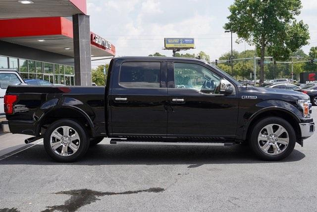Used 2018 Ford F-150 Lariat for sale Sold at Gravity Autos Roswell in Roswell GA 30076 8