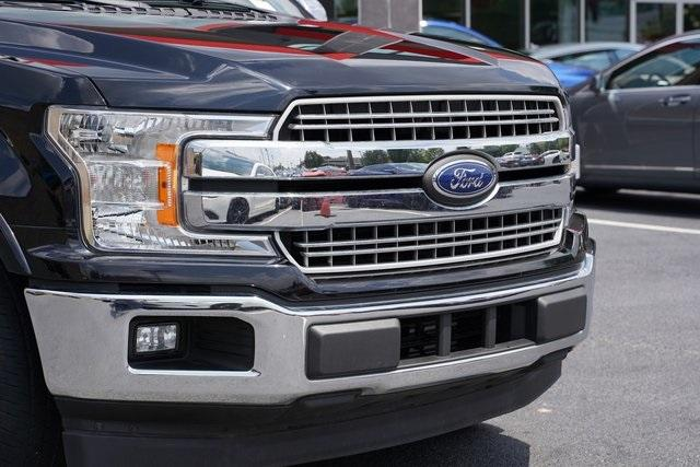Used 2018 Ford F-150 Lariat for sale Sold at Gravity Autos Roswell in Roswell GA 30076 9