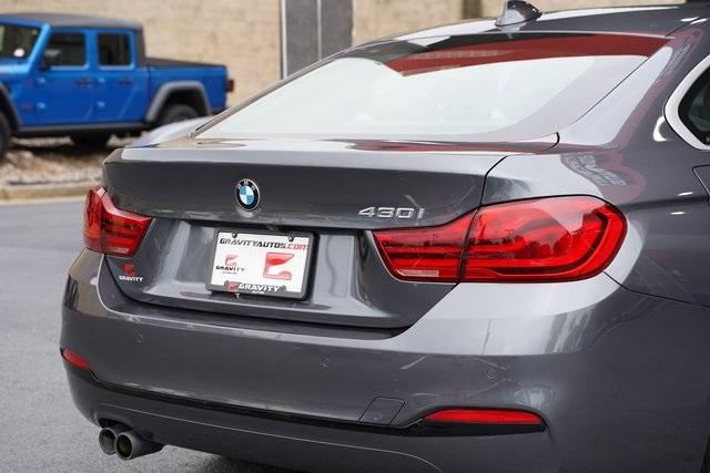 Used 2019 BMW 4 Series 430i Gran Coupe for sale Sold at Gravity Autos Roswell in Roswell GA 30076 14