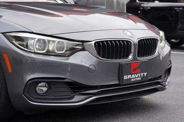 Used 2019 BMW 4 Series 430i Gran Coupe for sale Sold at Gravity Autos Roswell in Roswell GA 30076 9