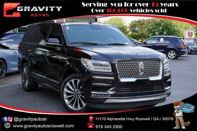 Used 2018 Lincoln Navigator Select for sale $49,991 at Gravity Autos Roswell in Roswell GA 30076 1