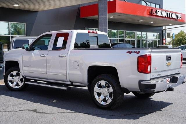 Used 2018 Chevrolet Silverado 1500 LTZ for sale $40,992 at Gravity Autos Roswell in Roswell GA 30076 11