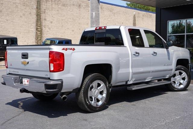 Used 2018 Chevrolet Silverado 1500 LTZ for sale $40,992 at Gravity Autos Roswell in Roswell GA 30076 13